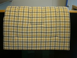 Stock Saddlecloth (collarcheck)-small
